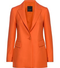 3596 - keiko single p blazer kavaj orange sand