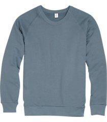 alternative apparel dark blue modern fit terry sweatshirt