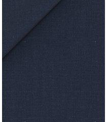 blazer da uomo su misura, lanificio zignone, lino cotone blu, primavera estate | lanieri