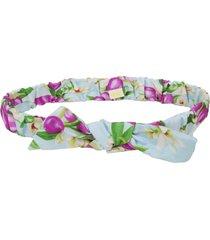faixa de cabelo ecokids place com elástico e laço blossom verde