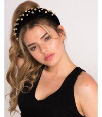 soho style new york doll studded padded headband