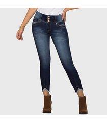 jeans push up carey azul marino tyt jeans