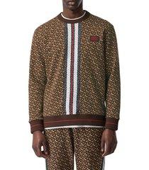 men's burberry marlow crewneck sweatshirt