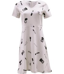 srndpty jurk lena pretty off-white ecru