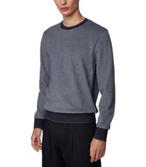 boss men's stadler two-tone sweater