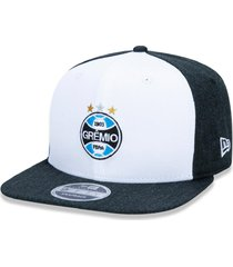 boné new era 9fifty original fit sn gremio branco/preto