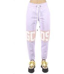 gcds logo bands jumpsuit pants