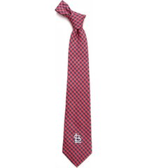 eagles wings st. louis cardinals poly gingham tie