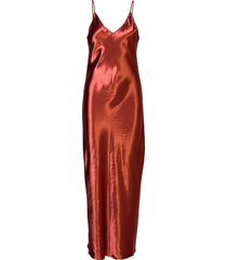 aida maxi dress galajurk rood fall winter spring summer