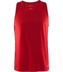 craft tanktop men mind singlet red-m
