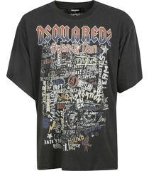dsquared2 dean & dan logo t-shirt