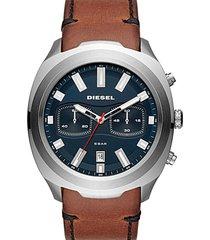 reloj fashion marrón diesel