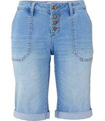 bermuda di jeans multistretch (blu) - john baner jeanswear