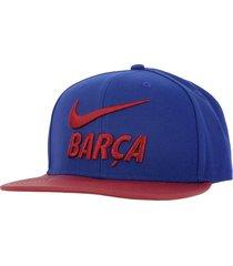 gorra nike fc barcelona-azul con rojo con envio gratis