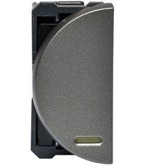 módulo de interruptor paralelo superior para led arteor 250v 16a magnésio