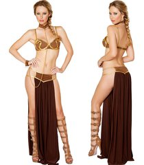 sexy cleopatra costume lady egyptian queen goddness halloween fancy dress outfit