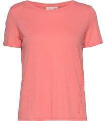 w gail tee#2 t-shirts & tops short-sleeved röd sail racing