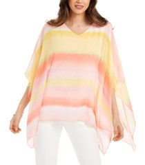 jm collection petite poncho top, created for macy's