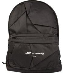 alexander wang backpack with logo