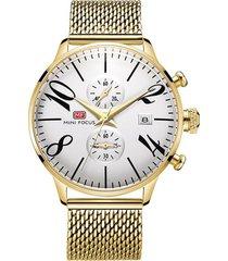 reloj análogo f0135gs-9 hombre dorado