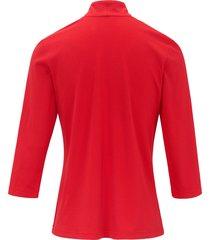 shirt met 3/4 mouwen van efixelle rood