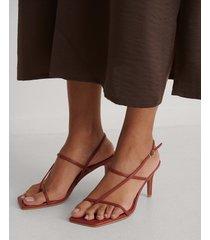 na-kd shoes sandaler - red