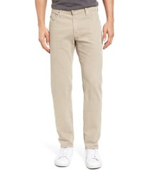 ag tellis sud modern slim fit stretch twill pants, size 42 x 34 in desert stone at nordstrom