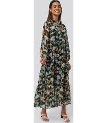 mango poma dress - multicolor