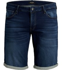 jack & jones plus size shorts denim blauw