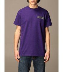 backsideclub t-shirt kim backsideclub cotton t-shirt with back print