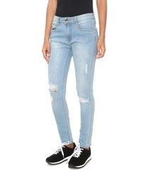 calça jeans my favorite thing(s) skinny high azul