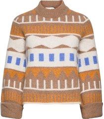 melba knit gebreide trui multi/patroon just female