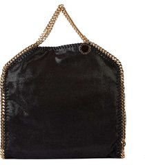 borsa donna a mano shopping 3 chain falabella fold over shaggy deer