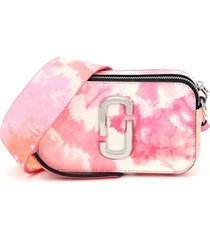 marc jacobs the snapshot small tie-dye camera bag