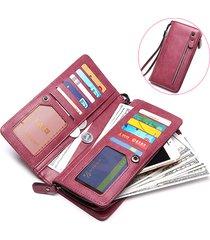 portafoglio lungo della borsa del raccoglitore della borsa dell'unità di elaborazione alla moda dell'unità di elaborazione con la borsa della chiusura lampo