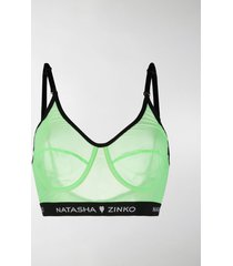 natasha zinko scoop neck sports bra