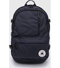 mochila azul converse straight edge