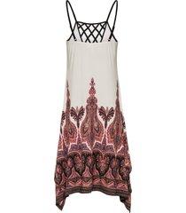 jersey jurk met print