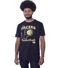 camiseta nba boston indiana pacers - preto - masculino - dafiti