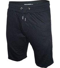 bermuda negra songe jeans