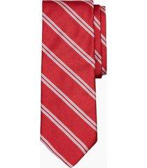 corbata heathered stripe rojo brooks brothers