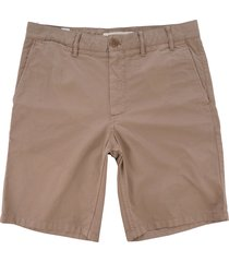 norse projects aros light twill shorts - utility khaki n35-0237