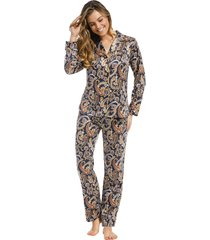 dames pyjama satijn pastunette de luxe 25212-316-6-40
