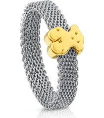anillo tous icon mesh 613105041 multicolor mujer