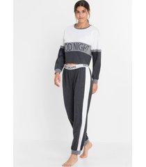 pyjama met cropped longsleeve (2-dlg.)