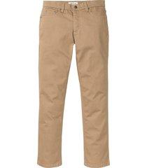 pantaloni elasticizzati sostenibili con poliestere riciclato regular fit (marrone) - john baner jeanswear