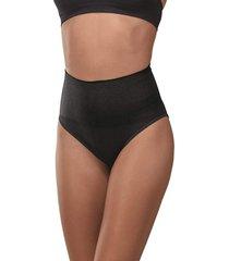 calcinha cinta ultraleve demillus 46204 preta - preto - feminino - dafiti