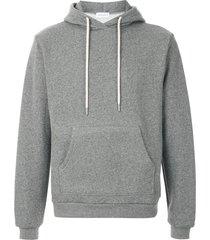 john elliott beach marled hoodie - grey