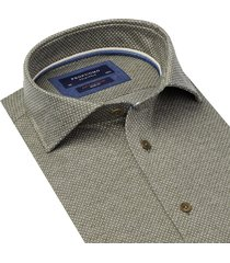 profuomo profumo originale the knitted shirt print ppqh3a1106 groen