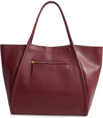 nordstrom oversize leather tote -